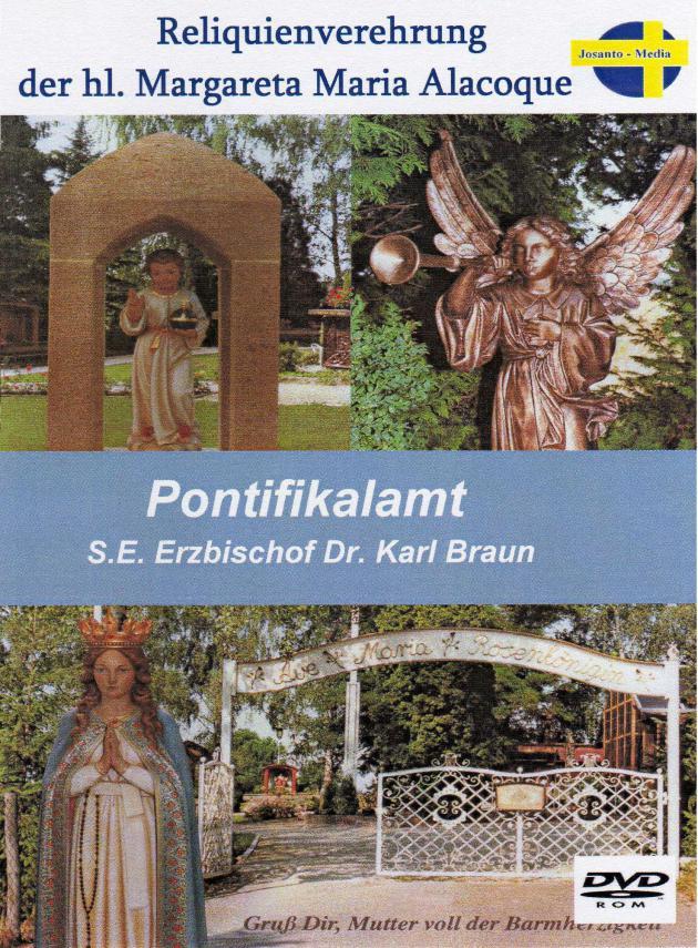 Pontifikalamt mit Reliquienverehrung.