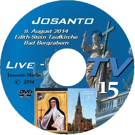 Live-TV 15 Festtag  Hl. Edith-Stein